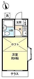 グレース習志野台[1階]の間取り