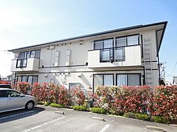 愛媛県松山市中央1丁目の賃貸アパートの外観