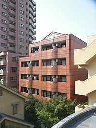 神奈川県川崎市高津区新作4丁目の賃貸マンションの外観