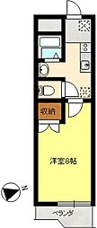 セシリアマンション[311号室]の間取り