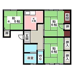 ITOマンション[1階]の間取り