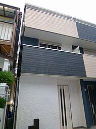 新築テラスハウス[1階]の外観