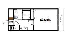 アーバン高塚橘通西ビル[303号号室]の間取り