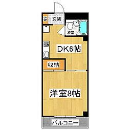 アキデザインマンション[3階]の間取り