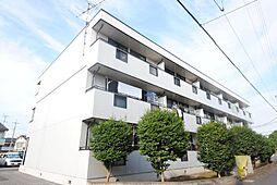 埼玉県越谷市大泊の賃貸マンションの外観