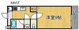 サンプリムローズII[2階]の間取り
