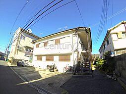 大阪府池田市鉢塚2丁目の賃貸アパートの外観