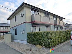 福岡県三潴郡大木町大字三八松の賃貸アパートの外観