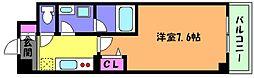 Flare Court甲南(フレアコート)[2階]の間取り