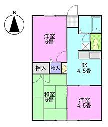 ソーユーハウス2[2階]の間取り