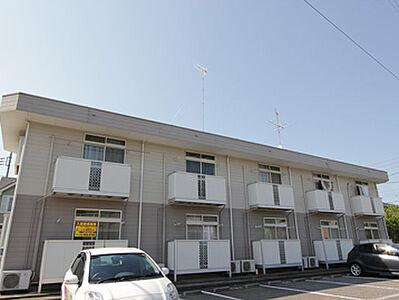 外観,2K,面積33.12m2,賃料4.3万円,つくばエクスプレス つくば駅 3.5km,,茨城県つくば市桜