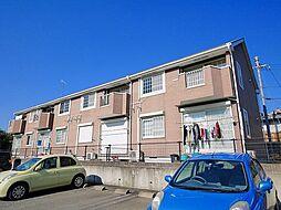奈良県桜井市大字阿部の賃貸アパートの外観