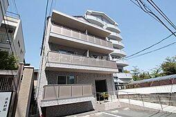 岡山県岡山市北区蕃山町の賃貸マンションの外観