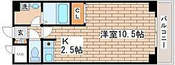 フルール須磨[105号室]の間取り