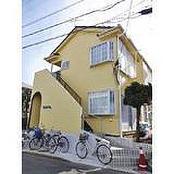 神奈川県平塚市中里の賃貸アパートの外観