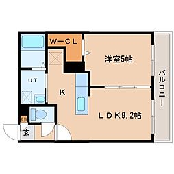 北海道札幌市東区北十三条東10の賃貸マンションの間取り