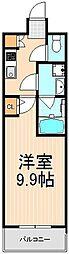 ラフィスタ三ノ輪[5階]の間取り