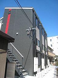 神奈川県川崎市高津区久地4の賃貸アパートの外観