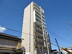 滋賀県大津市唐橋町の賃貸マンションの外観