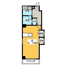 三共トラストビル[6階]の間取り