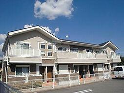 京都府京都市山科区西野左義長町の賃貸アパートの外観