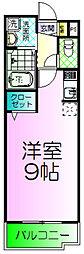 浜寺ヴィラ[1階]の間取り