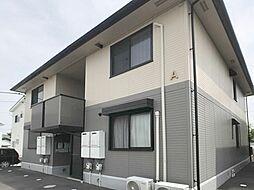群馬県高崎市台新田町の賃貸アパートの外観