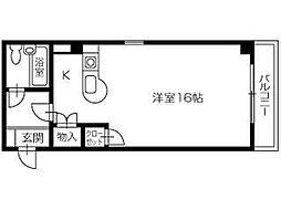 ヒューマンスペースVIII[5階]の間取り
