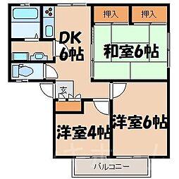 広島県広島市南区向洋新町3丁目の賃貸アパートの間取り