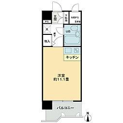ライオンズマンション新町通[5階]の間取り