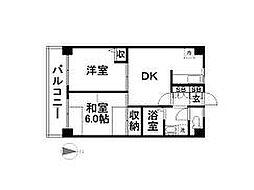 東京都江戸川区西葛西5丁目の賃貸マンションの間取り