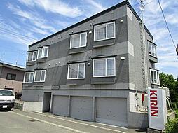 北海道札幌市東区北十九条東16丁目の賃貸アパートの外観