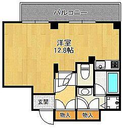 兵庫県西宮市甲子園五番町の賃貸マンションの間取り