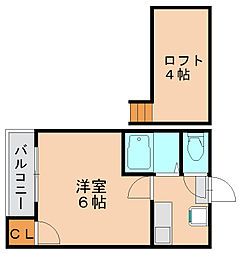ジオ博多駅南[1階]の間取り
