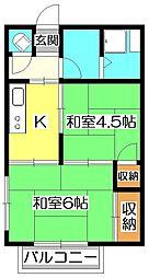 辰美荘[2階]の間取り