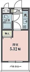 東京都世田谷区赤堤4丁目の賃貸マンションの間取り