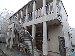 埼玉県戸田市喜沢2丁目の賃貸アパートの外観