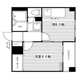 blu casa ARATA[3階]の間取り