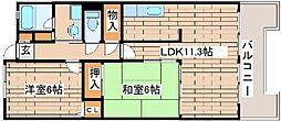 コンフォート西神戸[1010号室]の間取り