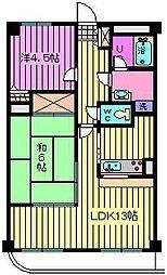 SGKマンションパピオール[502号室]の間取り