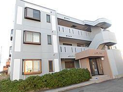 愛知県北名古屋市鹿田栄の賃貸マンションの外観
