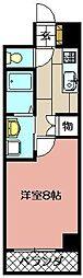 エクセレント藤[105号室]の間取り