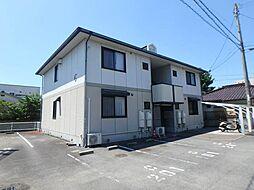 愛媛県松山市東石井6丁目の賃貸アパートの外観