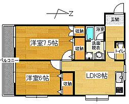 ソワサントUTR1[3階]の外観