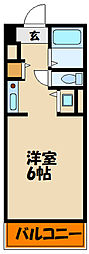 兵庫県明石市小久保2丁目の賃貸マンションの間取り
