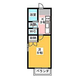 コープAi[1階]の間取り