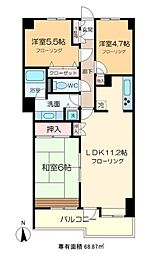 FOREST HOUSE[5階]の間取り
