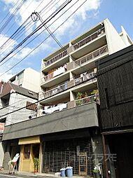 富小路マンション[4階]の外観