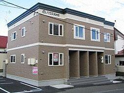 北海道札幌市豊平区福住三条6丁目の賃貸アパートの外観