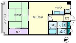 昭栄マンション[2階]の間取り